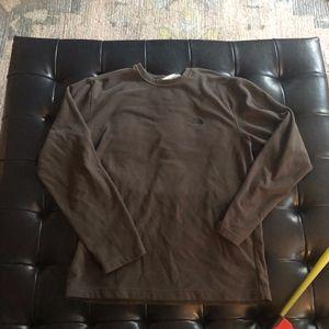 The North Face - sweatshirt - gray - medium